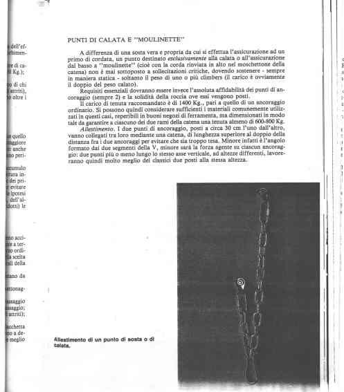 """una sosta corretta in """"In Alto"""" G.Bianchi 1989"""