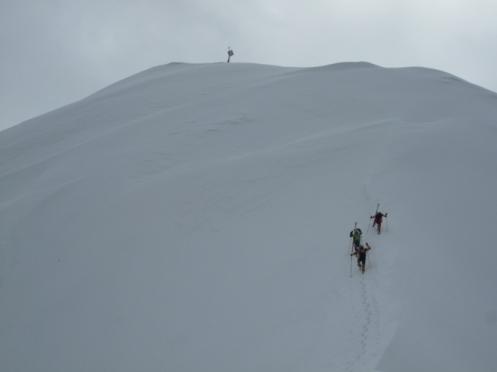 10 ultimi metri alla cima
