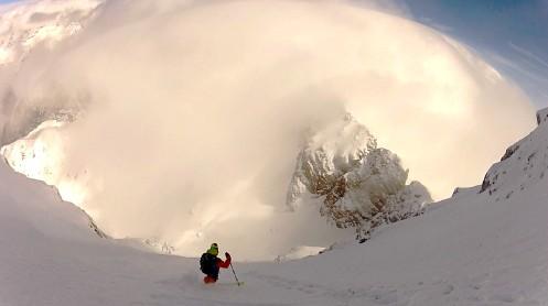 mose ski down